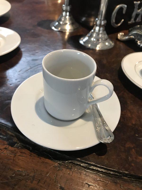 Conjunto cafézinho liso