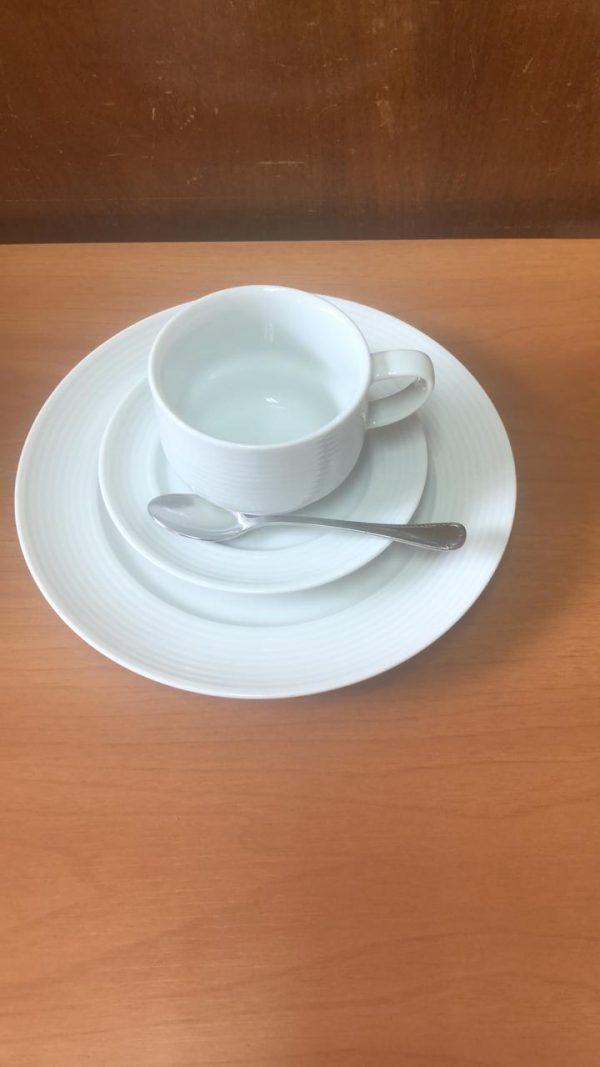 Conjunto de chá aspiral