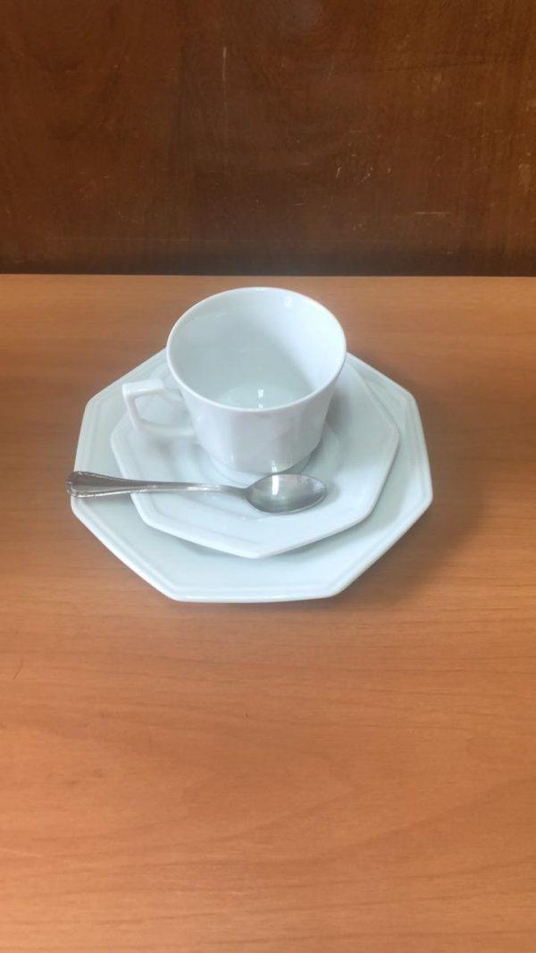 Conjunto de chá oitavado