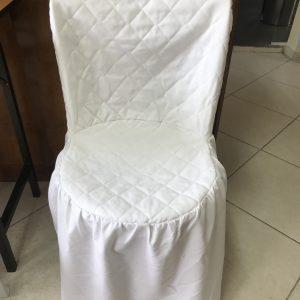 Cadeira em pvc com capa